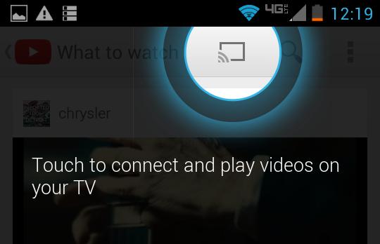 Chromecast Symbool Verschijnt Niet Chromecast Info