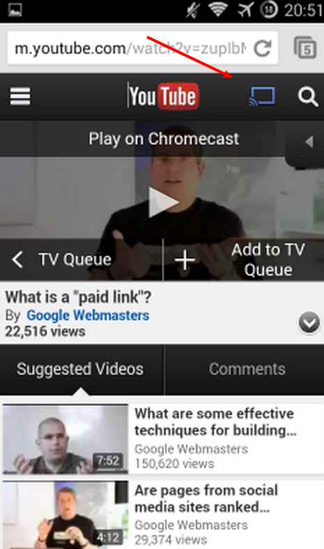 chrome-android-cast